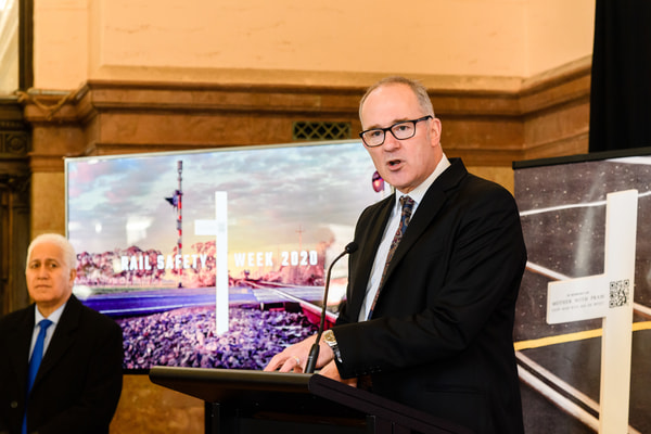 Minister of Transport Phil Twyford launches Rail Safety Week